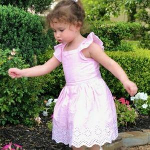(EUC) Carter's pinafor spring dress size 3T